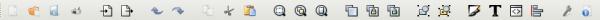 inkscape панель инструментов
